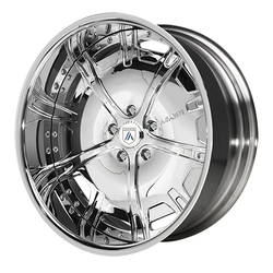 Asanti Wheels AF182 - Custom Finishes Rim - 20x15.5