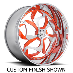 Asanti Wheels AF808 - Custom Finishes Rim - 20x15.5