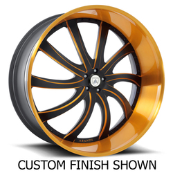 Asanti Wheels AF810 - Custom Finishes Rim - 22x12.5
