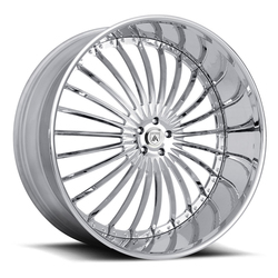 Asanti Wheels AF820 - Custom Finishes Rim - 20x15.5