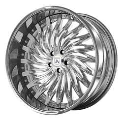 Asanti Wheels AF824 - Custom Finishes Rim - 20x15.5
