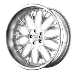 Asanti Wheels AF825 - Custom Finishes Rim - 20x15.5