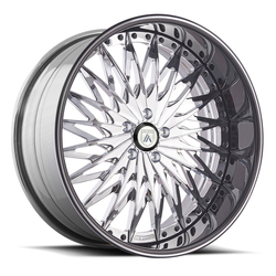 Asanti Wheels AF828 - Custom Finishes Rim - 20x15.5