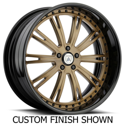 Asanti Wheels AF851 - Custom Finishes Rim - 20x15.5