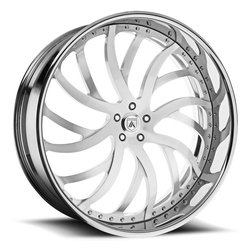 Asanti Wheels AF862 - Custom Finishes Rim - 20x15.5