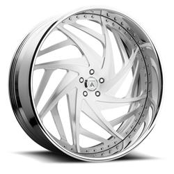 Asanti Wheels AF863 - Custom Finishes Rim - 20x15.5
