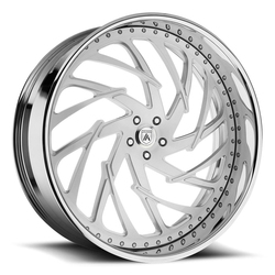 Asanti Wheels AF864 - Custom Finishes Rim - 20x15.5