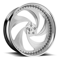 Asanti Wheels AF865 - Custom Finishes Rim - 20x15.5