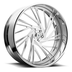 Asanti Wheels AF868 - Custom Finishes Rim - 20x15.5