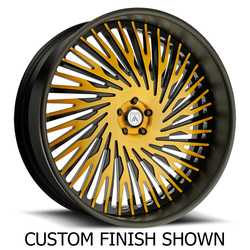Asanti Wheels AF869 - Custom Finishes Rim - 20x15.5