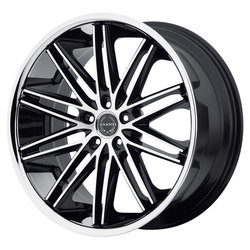 Asanti Wheels ABL-10 Pollux - Machined Face w/SS Lip - 20x10