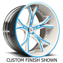 Asanti Wheels CX176 - Custom Finishes Rim - 24x8.5