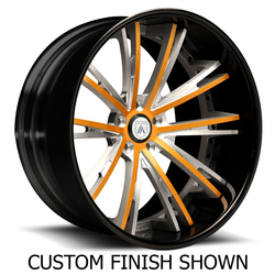 Asanti Wheels CX177 - Custom Finishes Rim - 24x8.5
