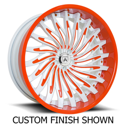 Asanti Wheels CX824 - Custom Finishes Rim - 24x8.5