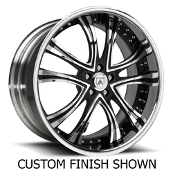 Asanti Wheels DA159 - Custom Finishes Rim - 22x15.5