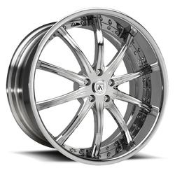 Asanti Wheels DA160 - Custom Finishes Rim - 22x12.5