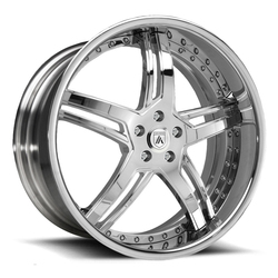 Asanti Wheels DA162 - Custom Finishes Rim - 20x15.5