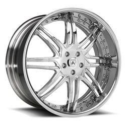 Asanti Wheels DA163 - Custom Finishes Rim - 20x15.5