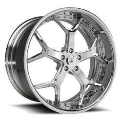 Asanti Wheels DA164 - Custom Finishes Rim - 20x15.5