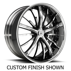 Asanti Wheels DA175 - Custom Finishes Rim - 20x15.5