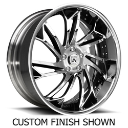 Asanti Wheels DA179 - Custom Finishes Rim - 22x15.5