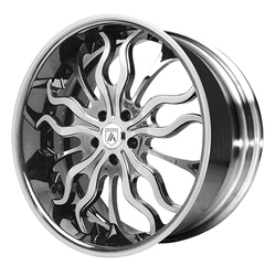 Asanti Wheels DA180 - Custom Finishes Rim - 20x15.5