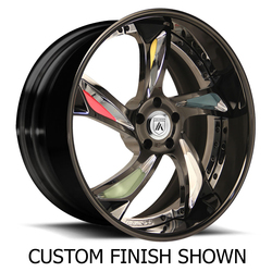 Asanti Wheels DA181 - Custom Finishes Rim - 20x15.5