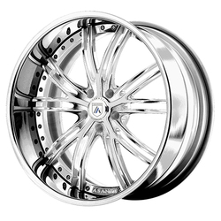 Asanti Wheels DA188 - Custom Finishes Rim - 20x15.5