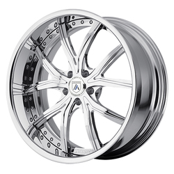 Asanti Wheels DA190 - Custom Finishes Rim - 20x15.5