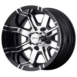 Fairway Alloy Wheels FA119 Aggressor - Machined Gloss Black Rim