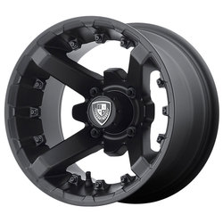 Fairway Alloy Wheels FA138 Battle - Matte Black Rim
