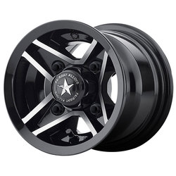 Fairway Alloy Wheels FA127 Divot - Gloss Black Machined - 8x7
