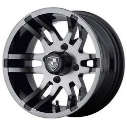 Fairway Alloy Wheels FA140 Flex - Dark Tint - 14x6.5