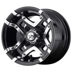 Fairway Alloy Wheels FA123 Prestige - Gloss Black Machined Rim