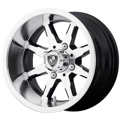Fairway Alloy Wheels FA141 Shift - Machined Gloss Black Rim