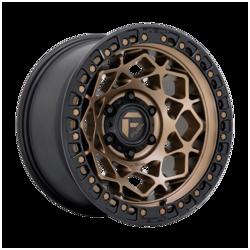 Fuel UTV Wheels D785 Unit UTV - Bronze With Matte Black Ring Rim