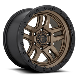 Fuel Wheels Fuel Wheels D702 Ammo - Matte Bronze Black Bead Ring
