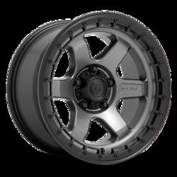 Fuel Wheels Block D756 - Matte Black Machined Double Dark Tint Rim