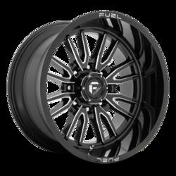 Fuel Wheels Clash 8 D761 - Gloss Black Milled Rim