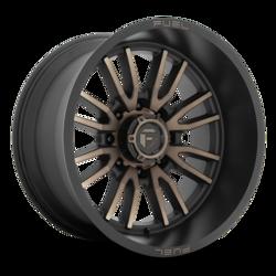 Fuel Wheels Clash 8 D762 - Matte Black Double Dark Tint Rim