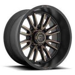 Fuel Wheels Clash D788 - Bronze Rim