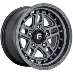 Fuel Wheels Clash D789 - Gun Metal Rim