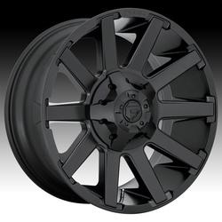 Fuel Wheels Contra D437 - Satin Black Rim