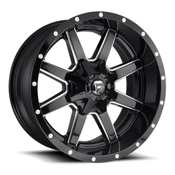 Fuel Wheels Maverick D610 - Gloss Black/Milled Rim