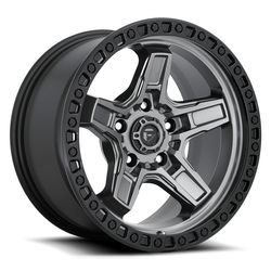 Fuel Wheels Kicker D698 - Matte Gunmetal/Black Bead Rim