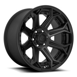 Fuel Wheels D706 Siege - Matte Black Rim