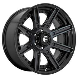 Fuel Wheels D708 Rogue - Gloss Machined Double Dark Tint Rim