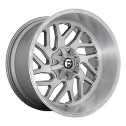 Fuel Wheels Triton D715 - Brushed Gunmetal Tinted Clear Rim - 24x12