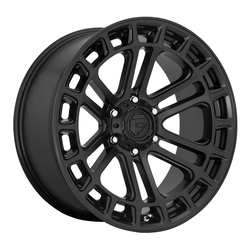 Fuel Wheels D718 Heater - Matte Black Rim