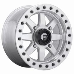 Fuel UTV Wheels D937 Maverick Beadlock - Raw Machined Rim - 14x7